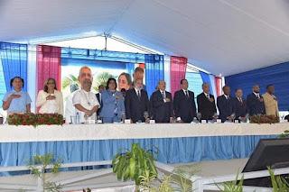 Danilo inaugura escuelas en Boca Chica y Sto. Dgo Este.