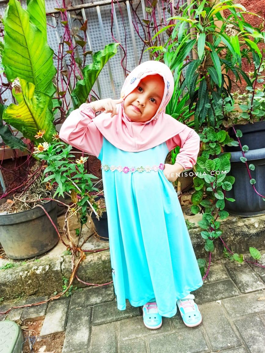 baju muslim anak perempuan terbaru 2020