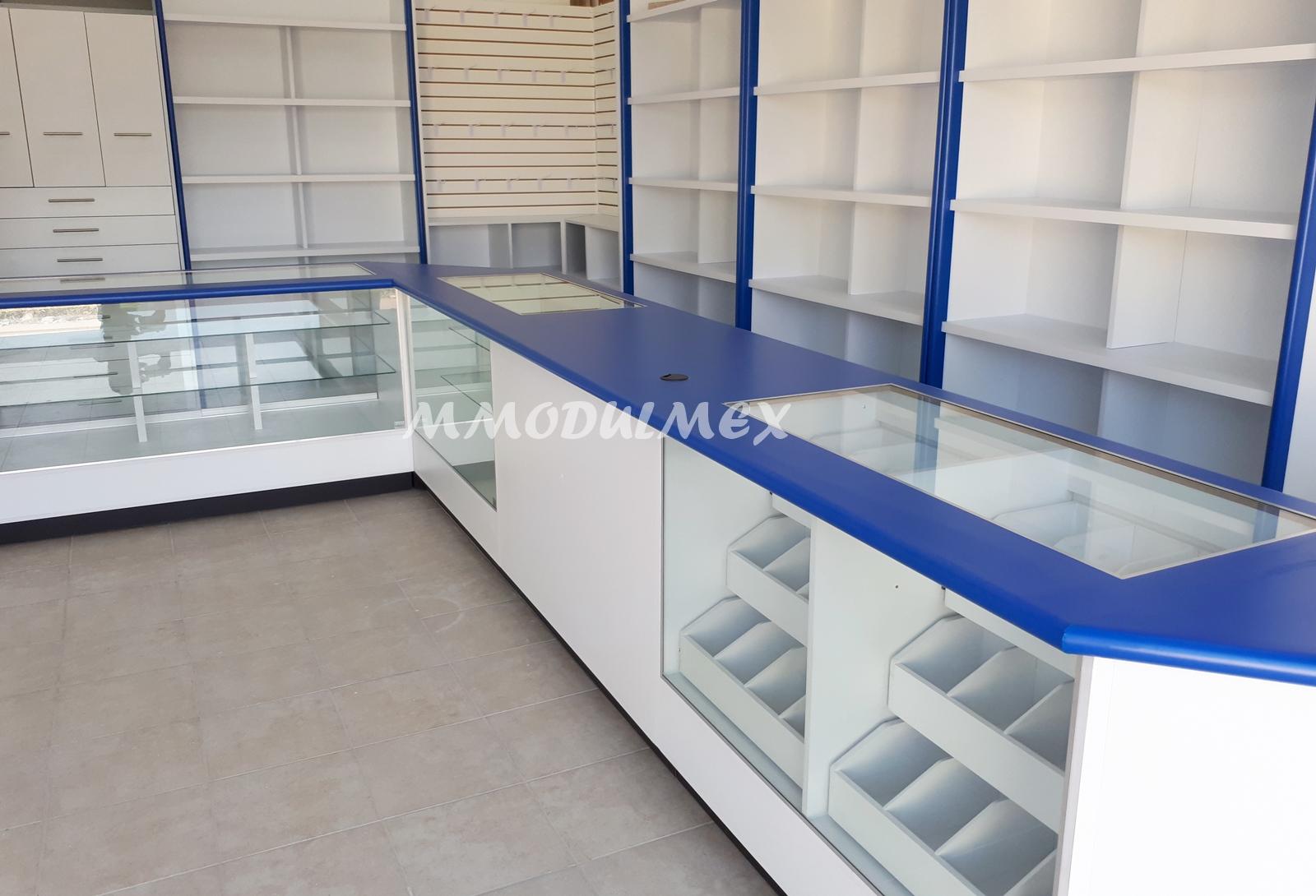 Muebles de tiendas mobiliario de oficina muebles de for Muebles para farmacia