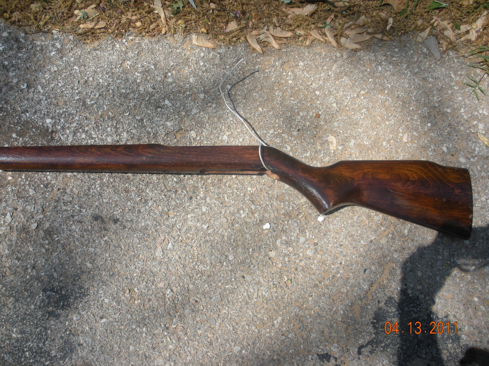 Rifle Wood Stock Refinishing
