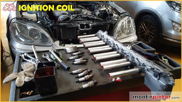 Ignition coil untuk mesin V12
