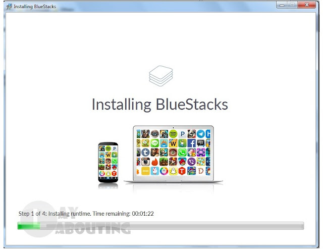 BlueStacks Terbaru 2.5.55.6279 Offline Installer