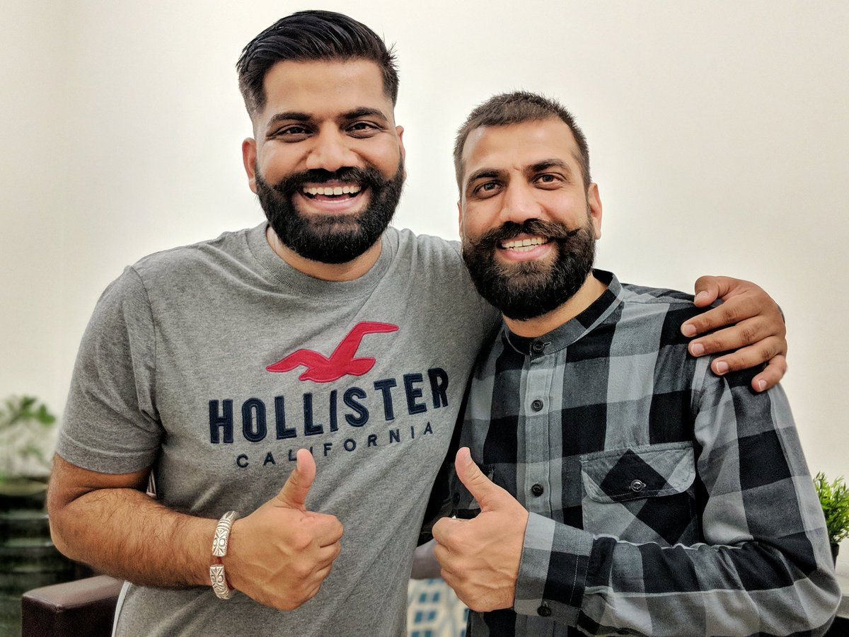 Technical Guruji With his Brother
