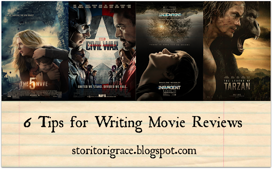 6 Tips for Writing Movie Reviews