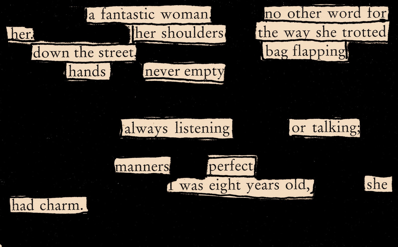 Fun With Blackout Poems