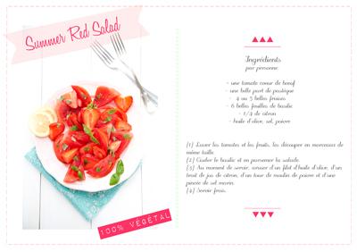 raw monday summer red salad 100 v g tal cuisine vegan. Black Bedroom Furniture Sets. Home Design Ideas