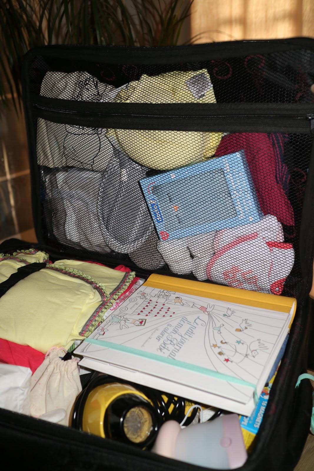 valise maternité bébé mai