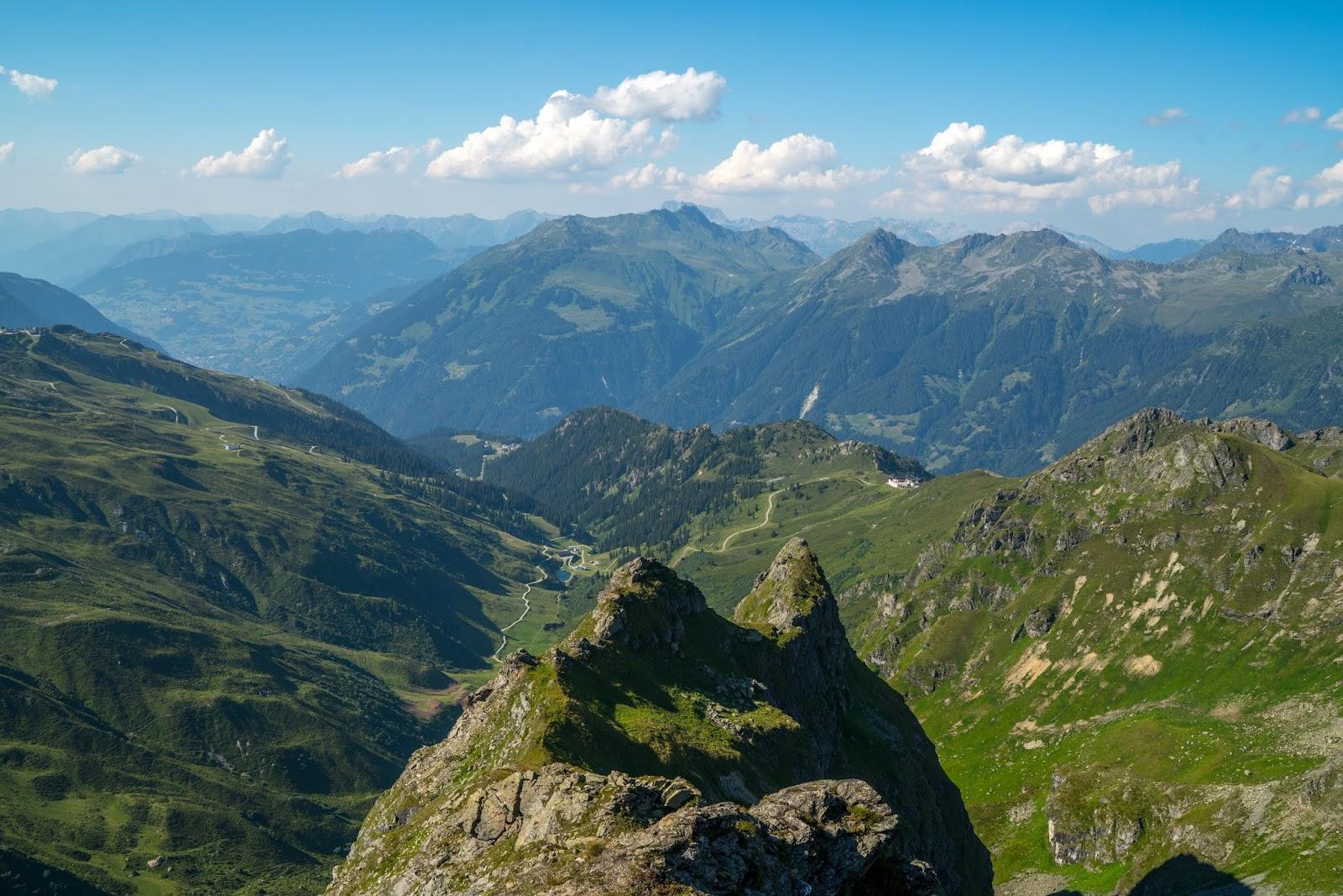 Klettersteig Madrisella : Gipfelweg madrisella wandern silvretta montafon vorarlberg