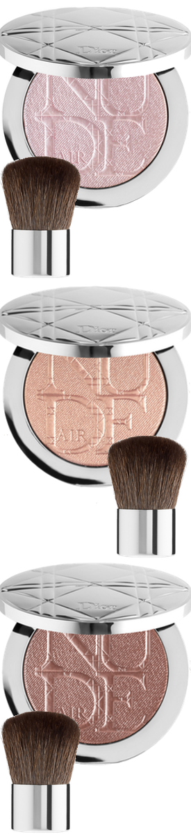 Dior Diorskin Nude Air Luminizer Powder (sold separately)
