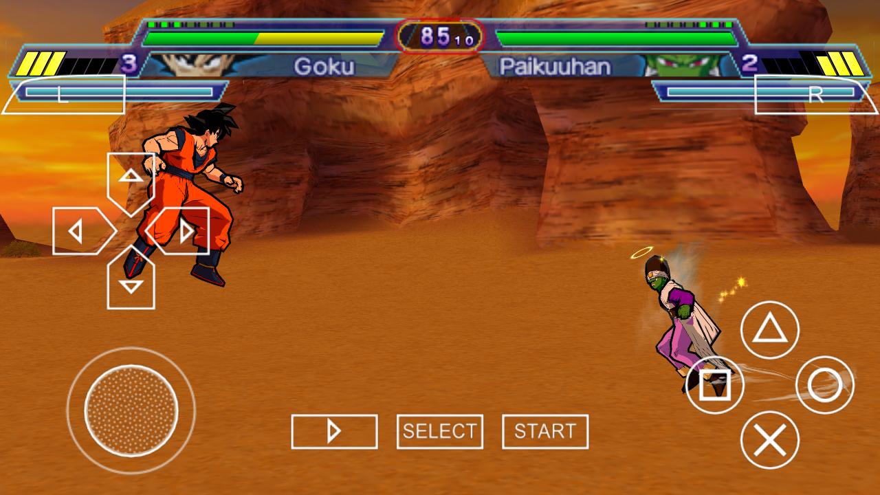 Dragon Ball Z - Shin Budokai 2 PSP ISO Free Download