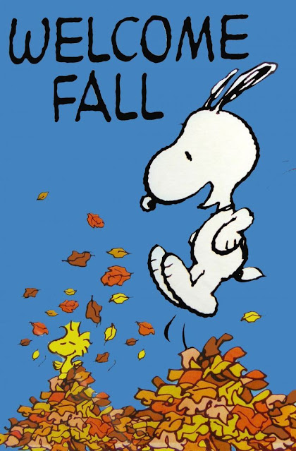 🙂 It's The First Day of Fall!