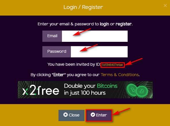 Регистрация в MySolidCoin 2