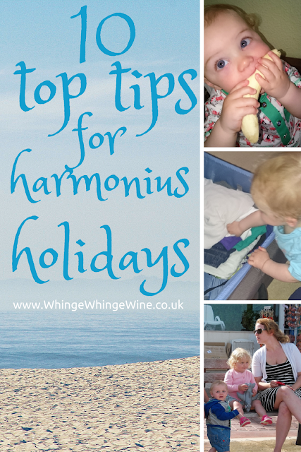 Ten top tips for harmonious holidays with children: Making travelling with kids less painful