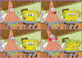 Polosan meme spongebob dan patrick 11 - Apa yang lebih lucu dari angka 24 ? angka 25