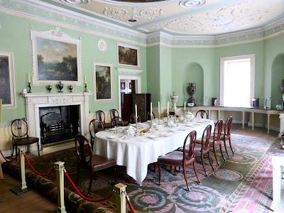 Dining Room, Saltram House (2014)