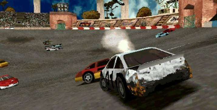 Destruction Derby 2 : Ford Thunderbird Nascar