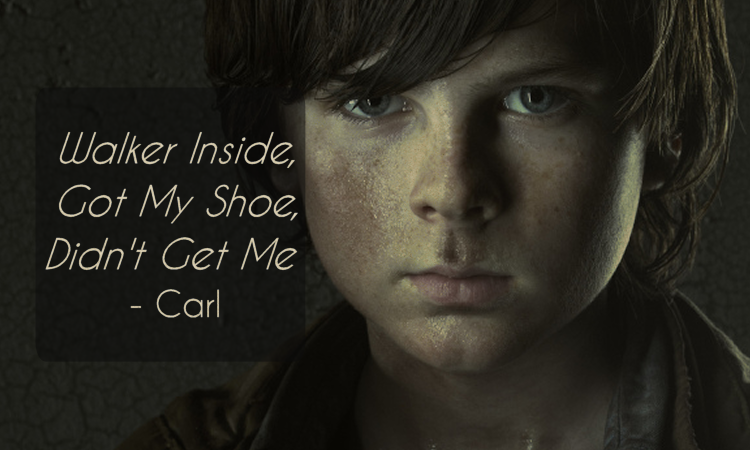 The Walking Dead Quotes Carl