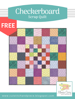 FREE - Checkerboard Wall Quilt Pattern