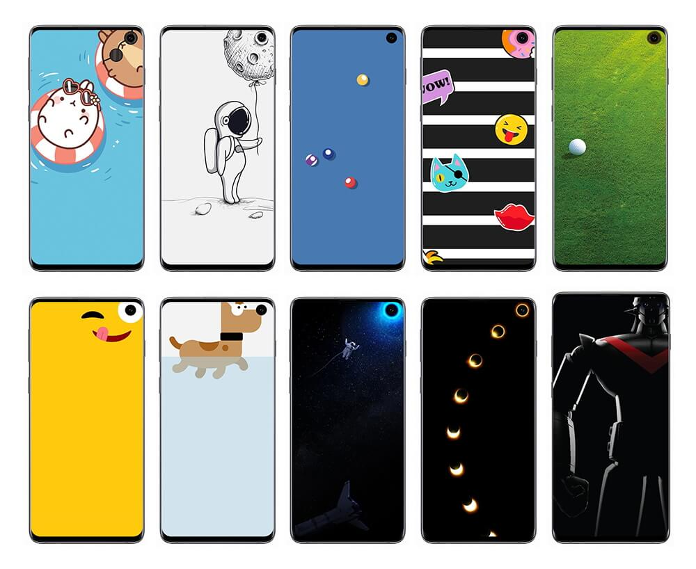Samsung Has Released Special Disney And Pixar Wallpapers For The Galaxy S10