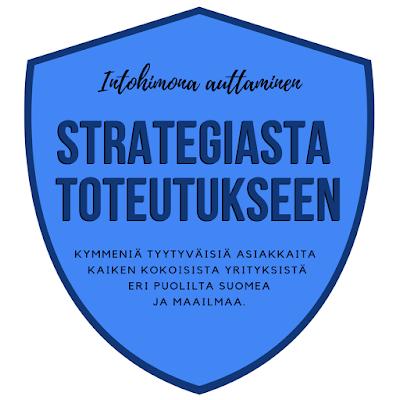 strategia logo badge