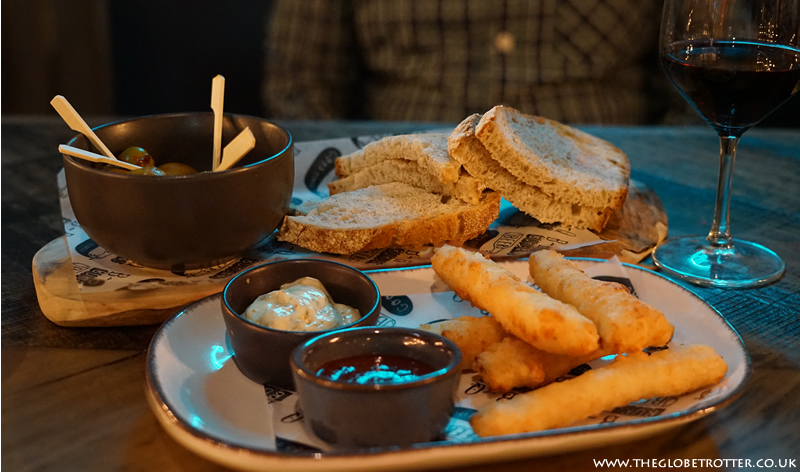 Dining at HUBBOX, Gunwharf Quays