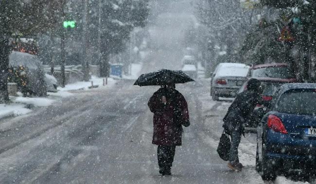 Έρχεται νέα επιδείνωση με βροχές, καταιγίδες και χιόνια