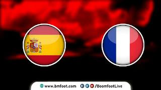 بث مباشر مباراة فرنسا واسبانيا مباشرة في نهائي دوري الأمم الأوروبية