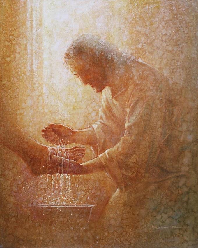 Jesús y el lavado de los pies según las costumbres de Medio Oriente