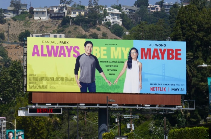 Always Be My Maybe billboard