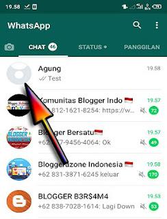 Cara membuat foto profil WhatsApp unik di android