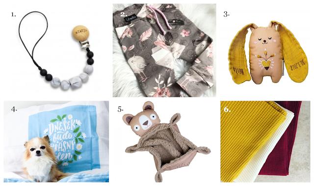 6 vhodných dárků pro miminka