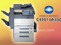 Solusi Mengatasi C4101 Konica Minolta BH 350