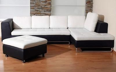 contoh desain sofa di ruang tamu yang eksklusif