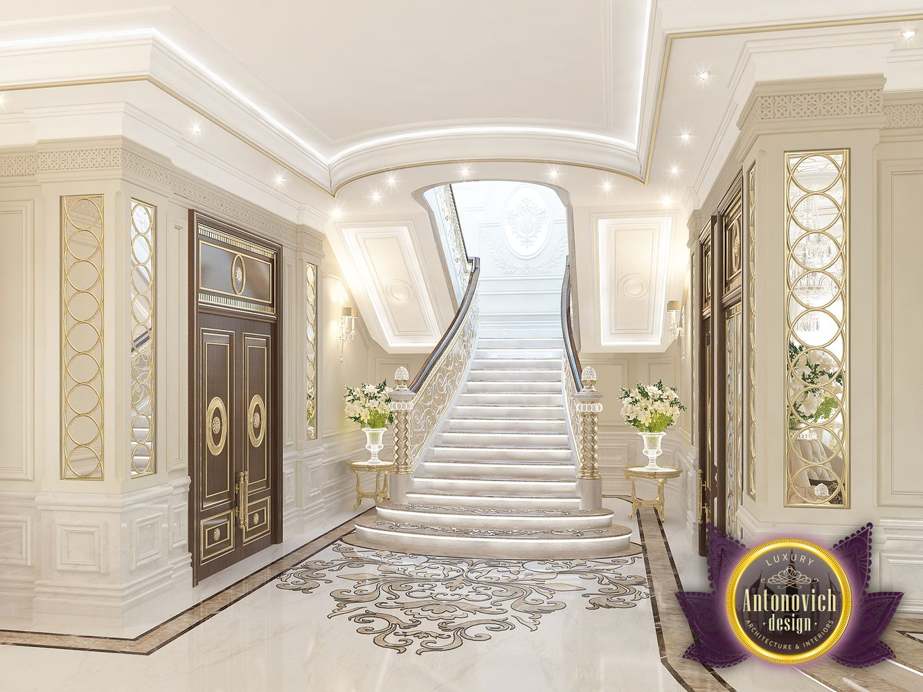 Luxury Home Entrance Kenyadesign Entrance Interior From Luxury Antonovich