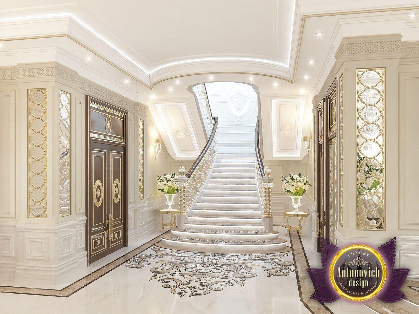 Home Interior Entrance Design Ideas: Kenyadesign: Entrance Interior From Luxury Antonovich