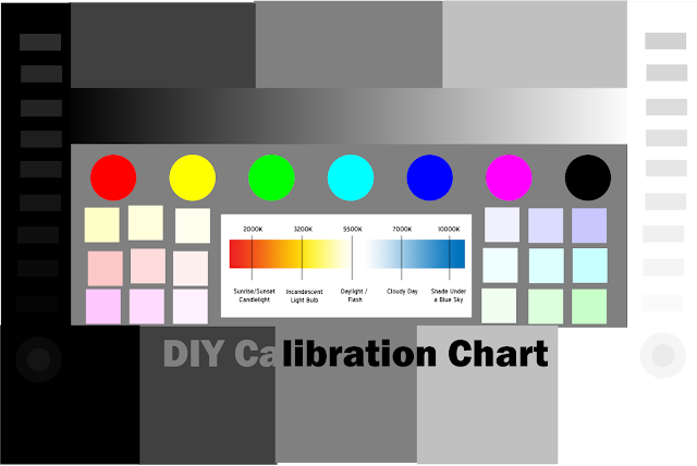 DYI Calibration Card