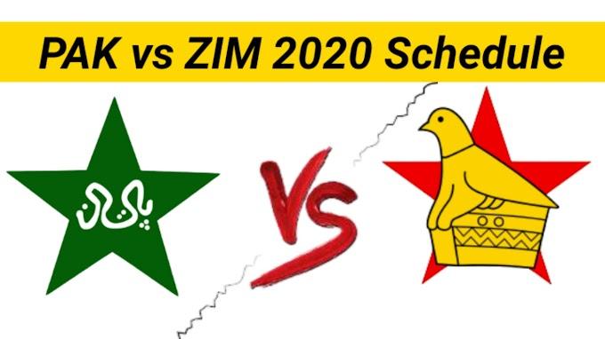 Match Officials for Zimbabwe Series Announced   PAK vs ZIM 2020 Series Confirm Schedule