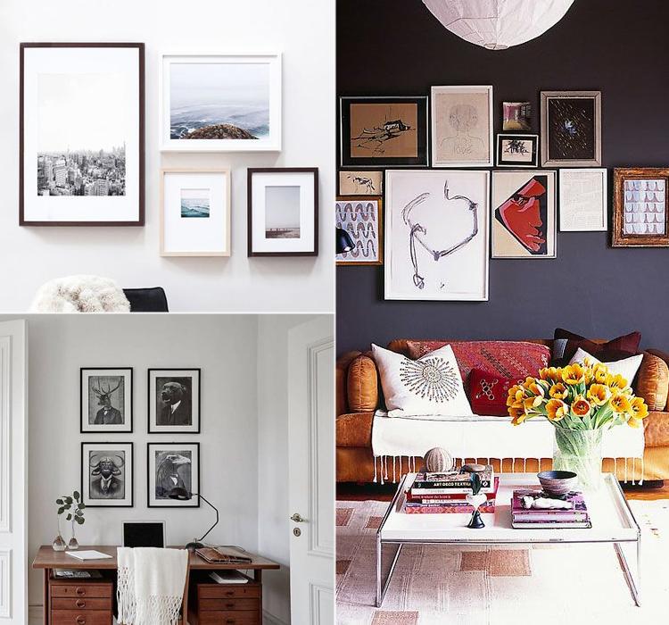 Come disporre i quadri arredamento facile - Come disporre i quadri in sala ...