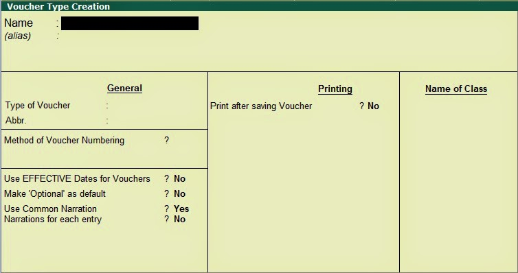 CREATE EXTRA VOUCHER IN TALLY ~ Tally Education - create a voucher