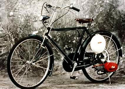 Sepeda Bermotor Honda Cub F-type