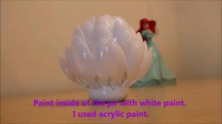 cara membuat hiasan dinding dari sendok plastik