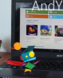 andyos emular juegos android en windows 10