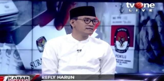 Refly Harun: Prinsipnya, Yang Curang Tidak Boleh Duduk Di Singgasana Kekuasaan