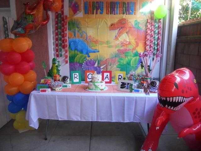 Decoraci n de fiestas infantiles de dino dan fiestas y todo eventos - Decoracion fiestas infantiles para ninos ...
