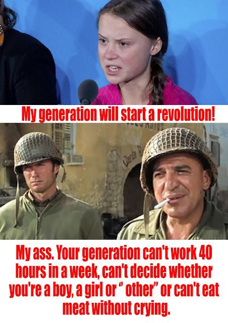 My generation will start a ..