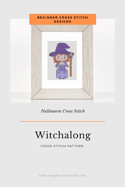 Witchalong Cross Stitch Pattern