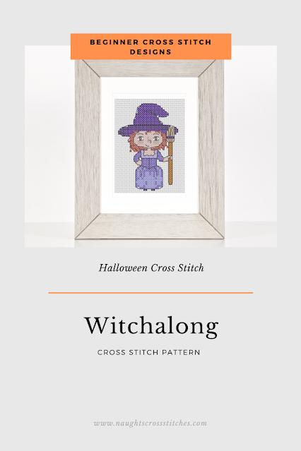 Witchalong Cross Stitch Pattern