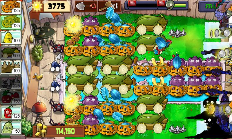 Plants vs zombies survival endless apk download