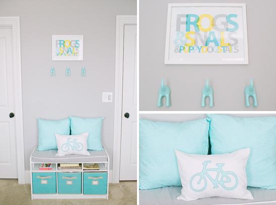 Cinza uma nova cor para o quarto do beb jeito de casa for Quadros dormitorio