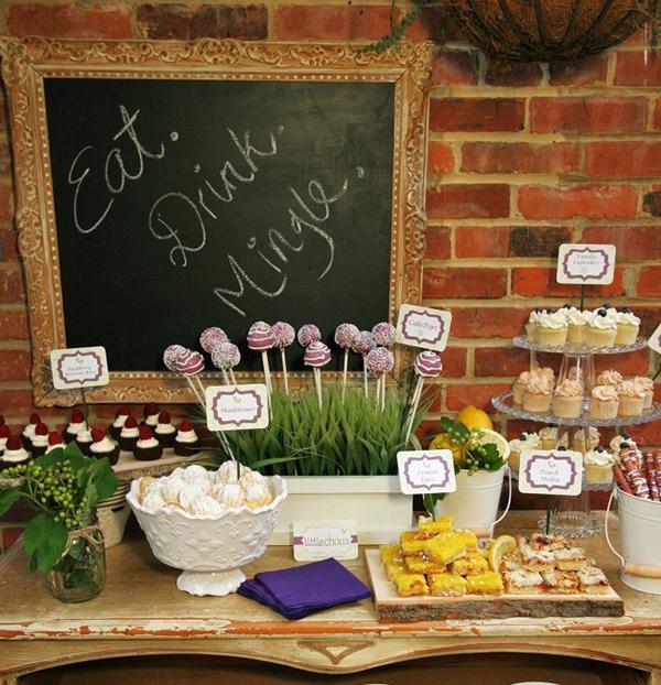 como fazer mesa de doces